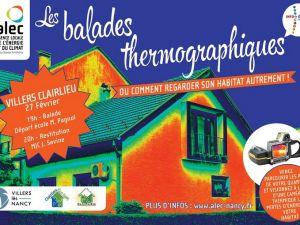 Les balades thermographiques : RDV